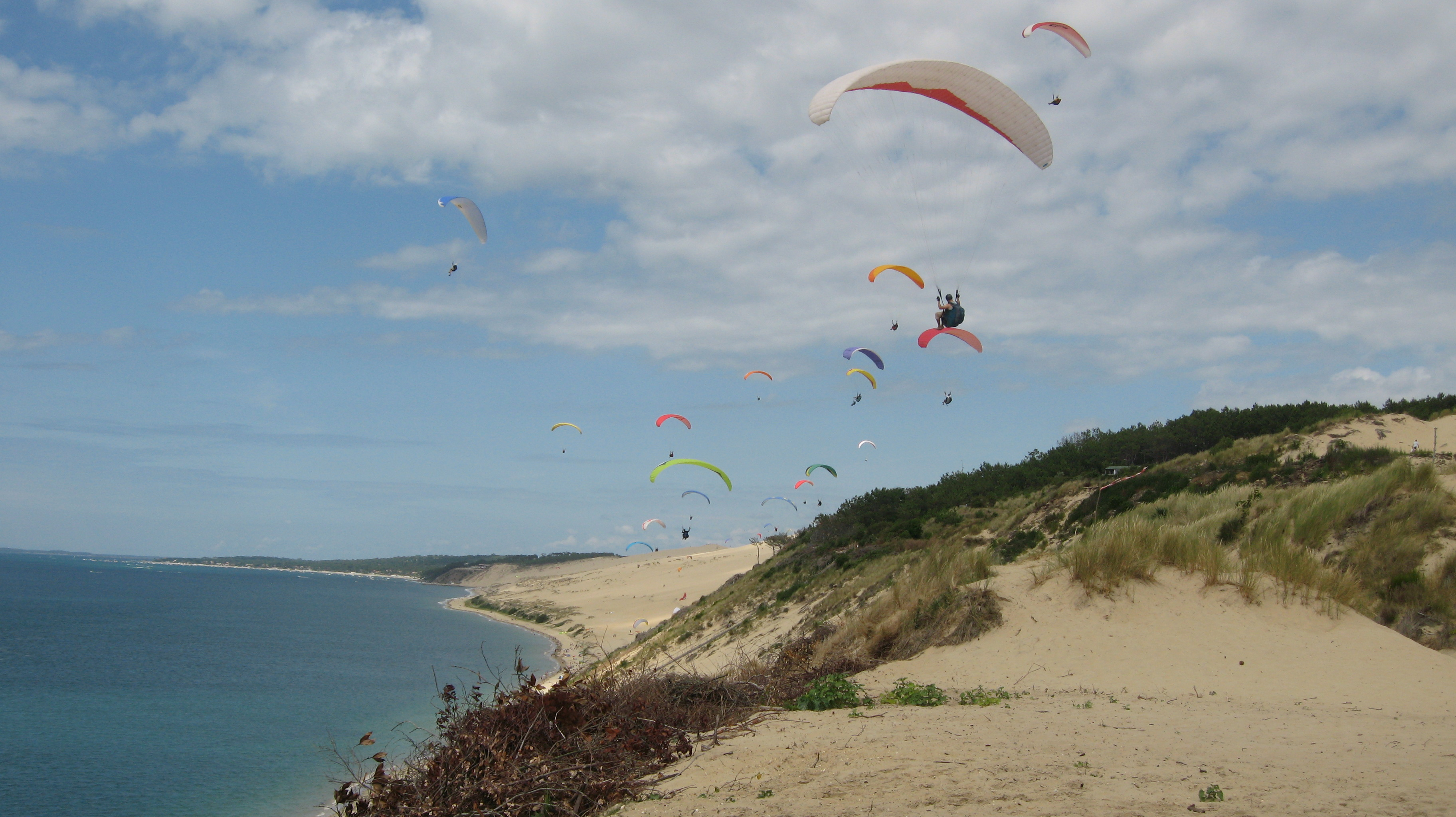 juin 2011 la dune du pyla lyon parapente. Black Bedroom Furniture Sets. Home Design Ideas